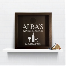 Personalised Wine Est Keepsake Box