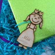 Personalised Princess Keyring
