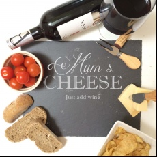 Personalised Mum's Cheese Board