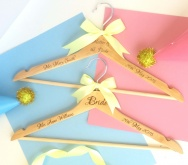 Personalised Wedding Party Hangers