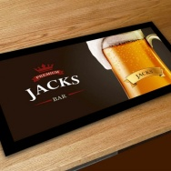 Personalised Tankard Bar Runner