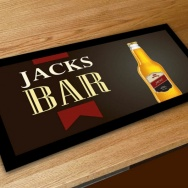 Personalised Bottle Bar Runner