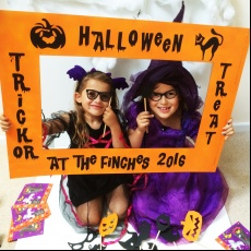 Personalised Halloween Photo Booth and Props