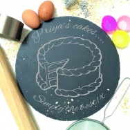 Personalised Simply the Best Cake Plate
