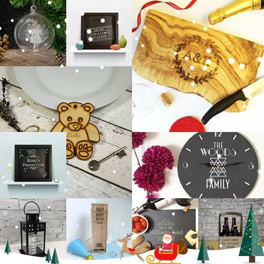 Top 10 Personalised Gifts Perfect for Christmas