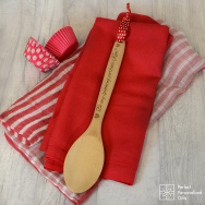 Personalised Be My Spooning Partner Wooden Spoon