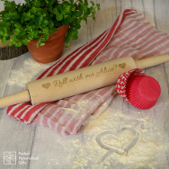 Personalised Roll With Me... Rolling Pin
