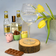 Personalised Let Easter BeGin! Gin Goblet