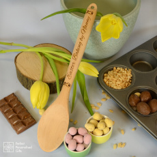 Personalised Easter Baking Spoon