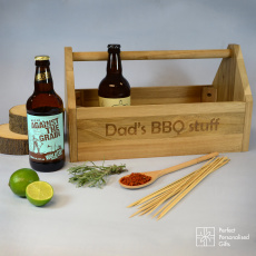 Personalised Beer & BBQ Trug
