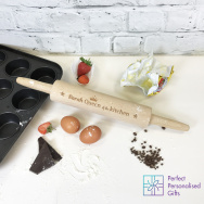 Personalised Queen of the Kitchen Rolling Pin