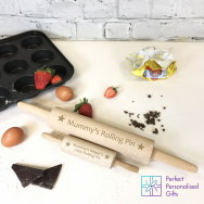 Personalised Mummy's Helper Rolling Pin Set