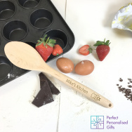 Personalised Kitchen Wooden Spoon