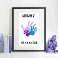 Personalised Mother's Day Hand Print