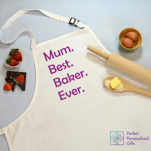 Personalised Best Baker Ever Apron