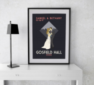 Personalised First Dance Wedding A4 Print