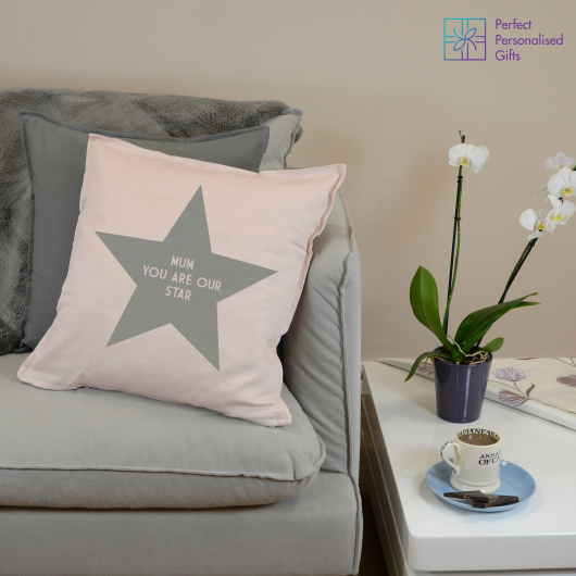 Personalised You Are Our Star Cushion