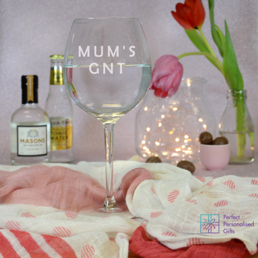 Personalised GNT Gin Goblet