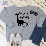 Personalised Mamasaurus Sweatshirt