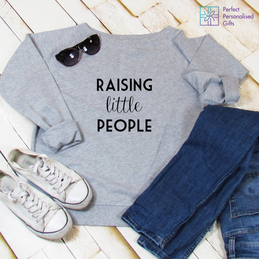 Personalised Raising Little People Sweatshirt