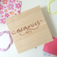Personalised Memories Keepsake Box