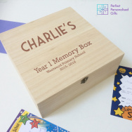 Personalised School Memories Keepsake Box