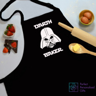 Personalised Darth Baker Star Wars Apron