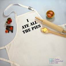 Personalised I Ate All The Pies Cooking Apron