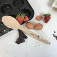 Personalised Princess of the Kitchen Wooden Spoon