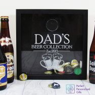 Beer Cap Keepsake Box