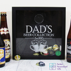 Personalised Beer Cap Keepsake Box