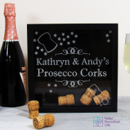 Personalised Prosecco Cork Collection Box