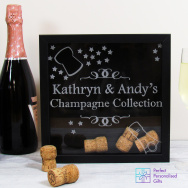 Champagne Cork Collection Box