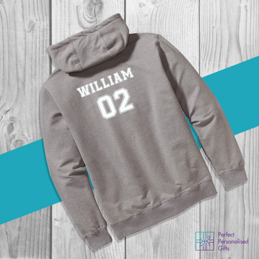 Personalised Initial & Name Kids Hoodie