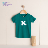 Personalised Baby Toddler Initial T-Shirt