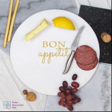 Personalised Bon Appetit Marble Board