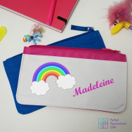 Personalised Rainbow Pencil Case