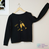 Personalised Bubbles & Sparkles Sweatshirt
