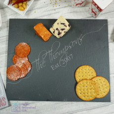 Personalised Family Slate Cheeseboard