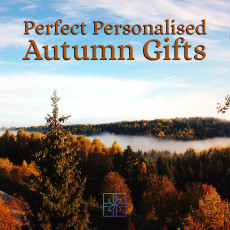Perfect Personalised Autumn Gifts