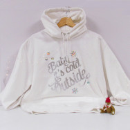 Personalised Festive Baby It's Cold Outside Hoodie