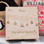 Personalised Personalised Bauble Christmas Eve Box