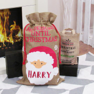 Personalised Novelty Santa Christmas Sack