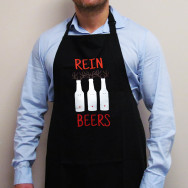 Personalised Reinbeers Christmas Apron
