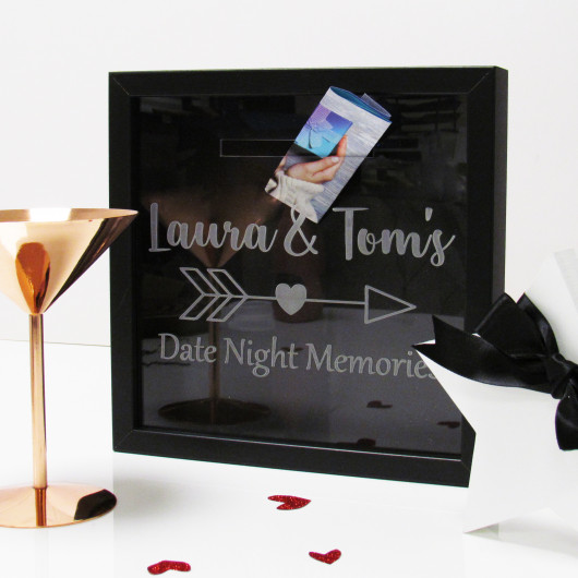 Personalised Date Night Memories Collection Box