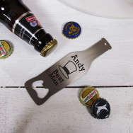Personalised Best Man Bottle Opener