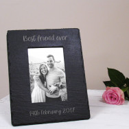 Personalised Personalised Slate Photo Frame