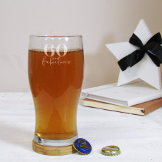 Personalised Special Birthday Pint Glass