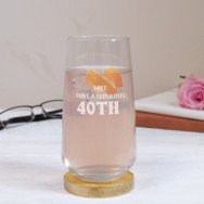 Personalised Fabulous Birthday Tall Tumbler