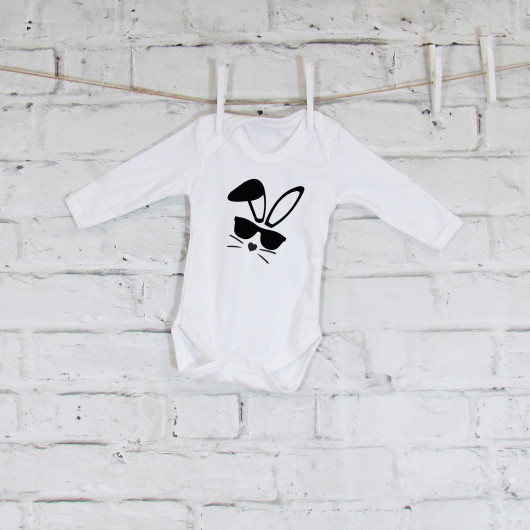 Personalised Easter Bunny Baby Grow